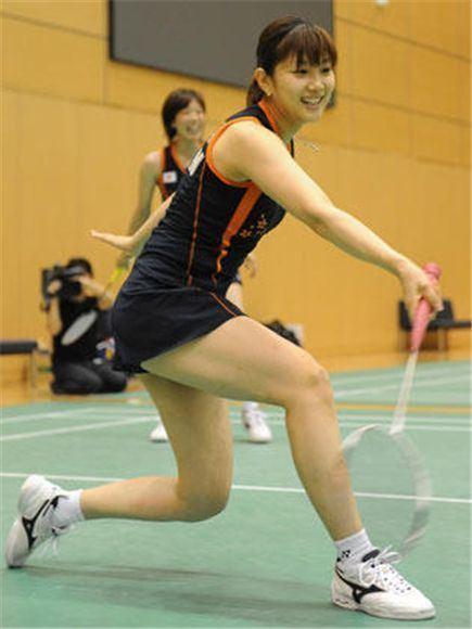 Reiko Shiota Reiko Shiota Reiko Shiota Playing Double BadmintonLinkcom
