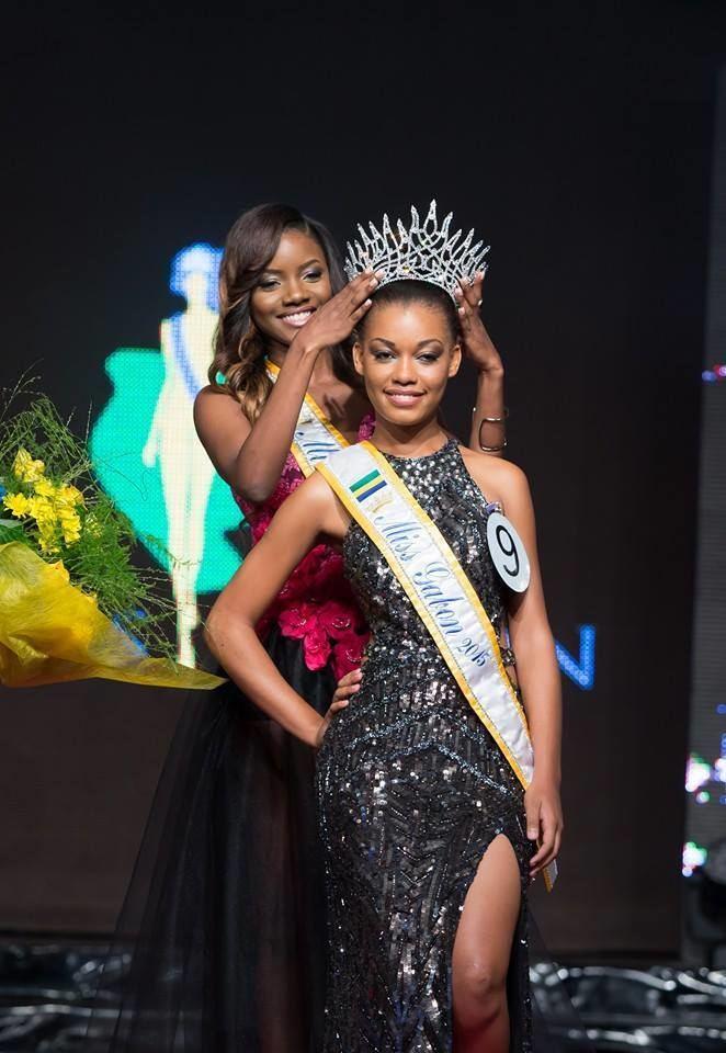 Reine Ngotala Reine Ngotala wins Miss Gabon 2015 Missosology
