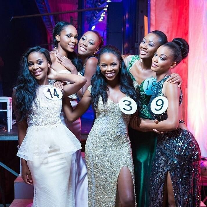 Reine Ngotala Miss Gabon 2015 Crowning Moments of the Winner Reine