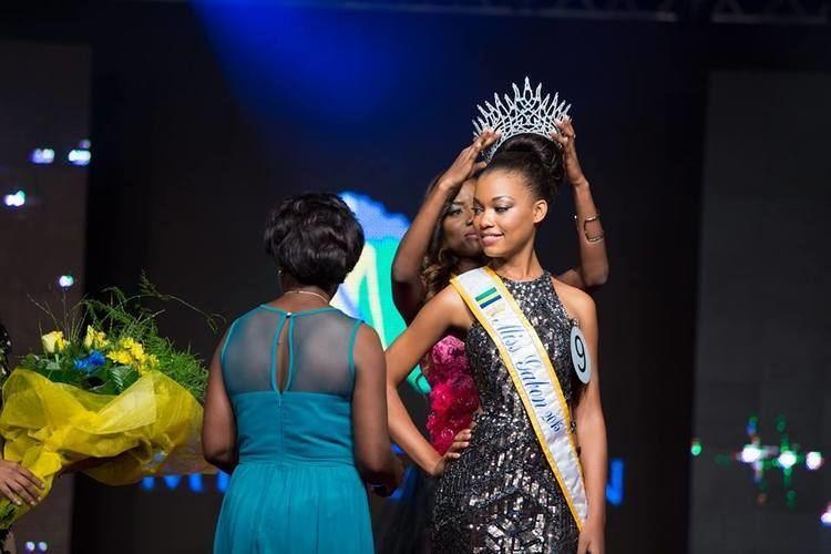 Reine Ngotala Reine Ngotala a t choisie Miss Gabon 2015 Tendancemapeople