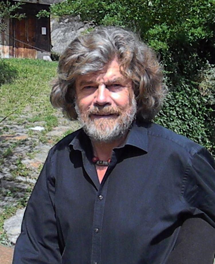 Reinhold Messner Reinhold Messner Wikipedia the free encyclopedia