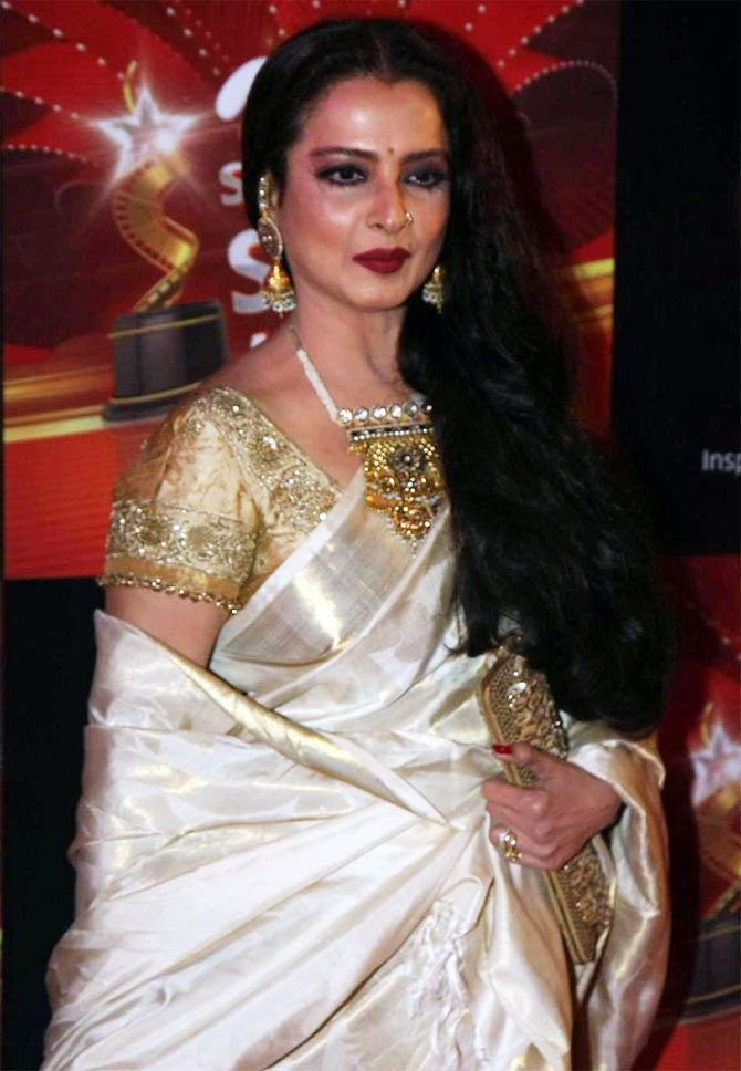 Rekha Birthday Quiz How well do you know Rekha Rediffcom Movies