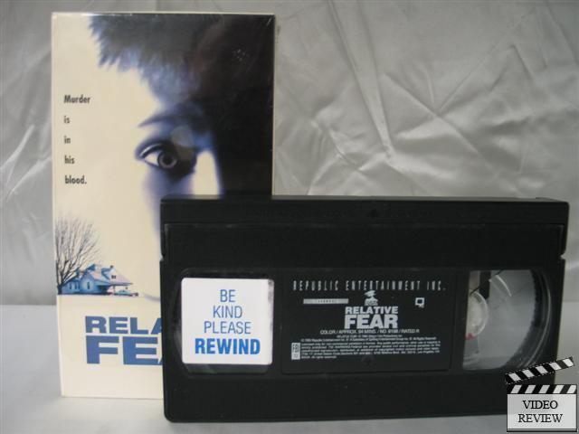 Relative Fear Relative Fear VHS James Brolin Linda Sorensen 17153619836 eBay