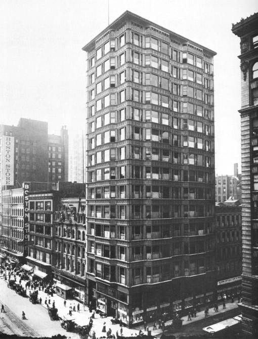 Reliance Building PHOTO CHICAGO RELIANCE BUILDING 32 N STATE EARLY FROM