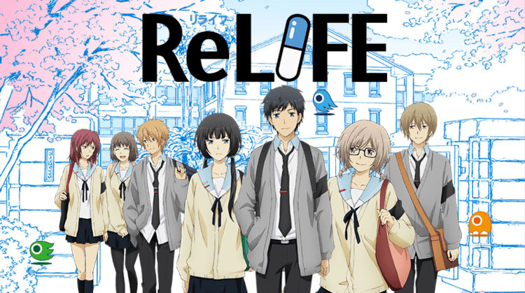 ReLIFE ReLife is Basically Just A Slice Of Life Anime But Fun To Watch