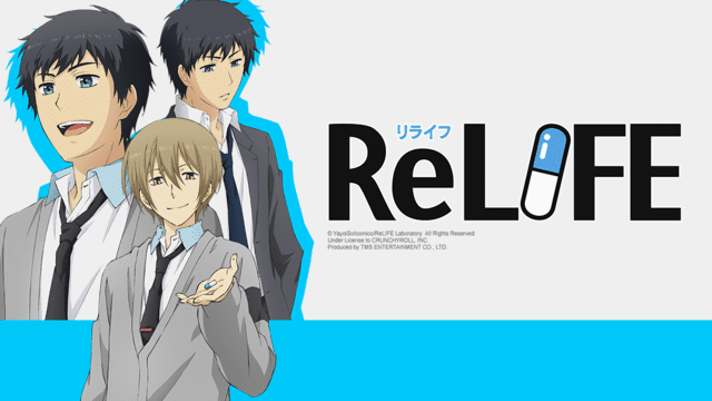 ReLIFE Crunchyroll Crunchyroll to Simulcast quotReLIFEquot Anime