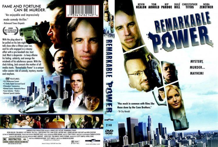Remarkable Power Remarkable Power Movie DVD Scanned Covers Remarkable Power