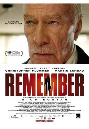Remember (2015 film) Movie Review Remember 2015 The Critical Movie Critics