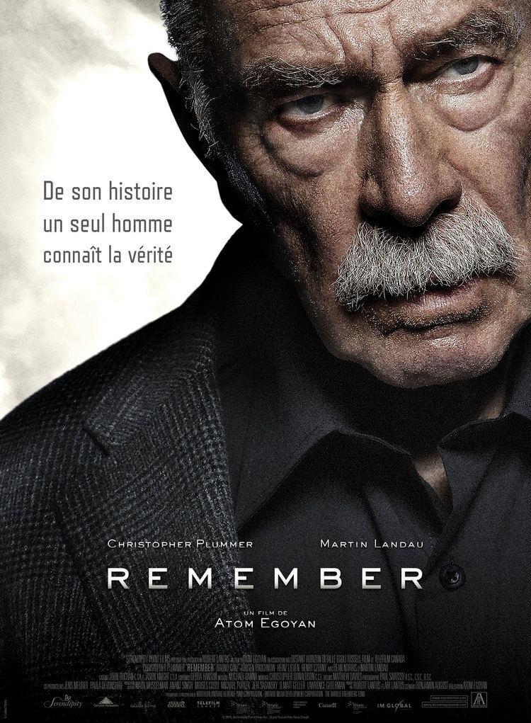 Remember (2015 film) Remember film 2015 AlloCin