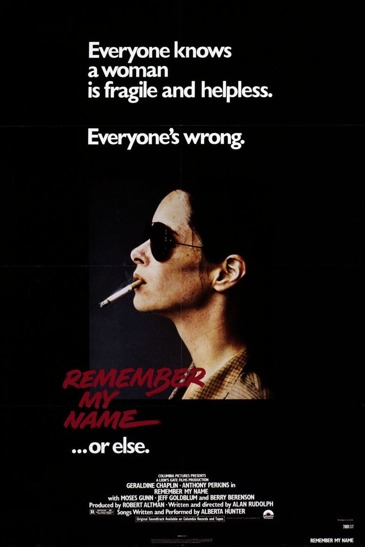 Remember My Name wwwgstaticcomtvthumbmovieposters5589p5589p