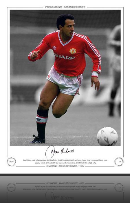 Remi Moses Manchester United Remi Moses 1980s Limited Edition