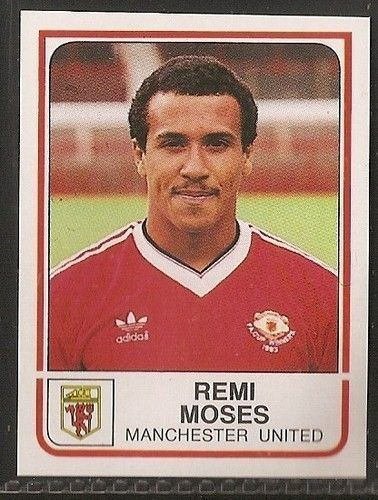 Remi Moses 278 best Manchester United Players images on Pinterest Man united