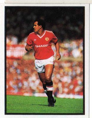 Remi Moses MANCHESTER UNITED Remi Moses 126 Soccer 88 Daily Mirror 1988