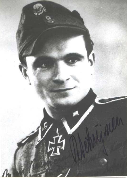 Remi Schrijnen Military Autographs