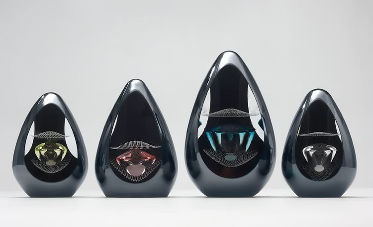 Remigijus Kriukas Black Ornaments Teggno by Remigijus Kriukas Boha Glass