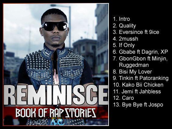 Reminisce (artist) Reminisce Book of Rap Stories Nigerian Listening EAR