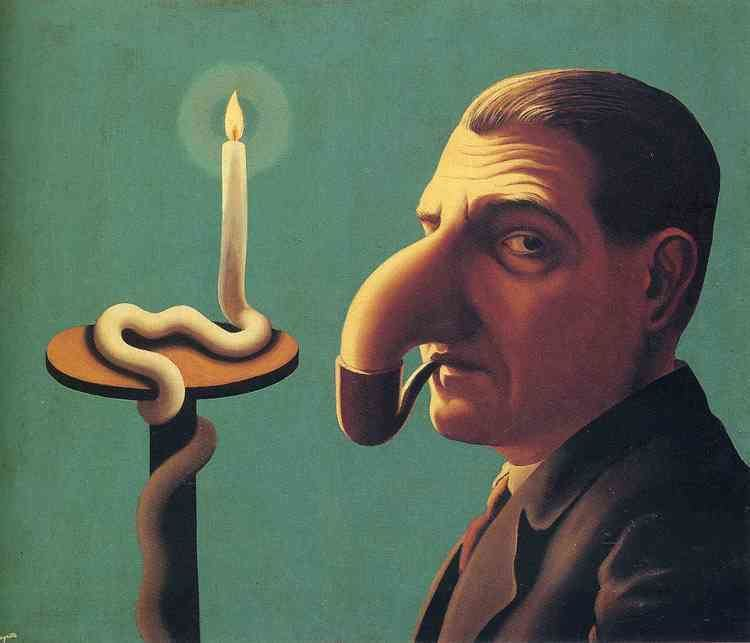 René Magritte Philosopher39s lamp 1936 Rene Magritte WikiArtorg