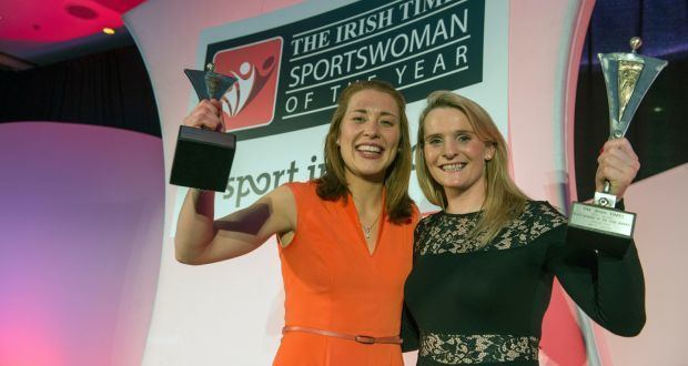 Rena Buckley Briege Corkery and Rena Buckley named Sportswomen of the Year