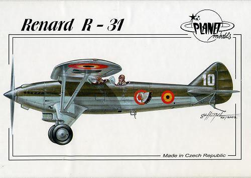 Renard R.31 Planet Models 172 Renard R31 previewed by Scott Van Aken