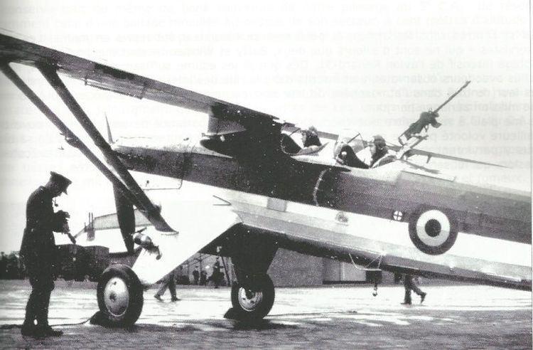 Renard R.31 Belgium Data Sheet Renard R31 in work Heavy Fighters and