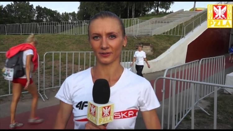 Renata Pliś Renata Pli po zwycistwie na 5000 m YouTube
