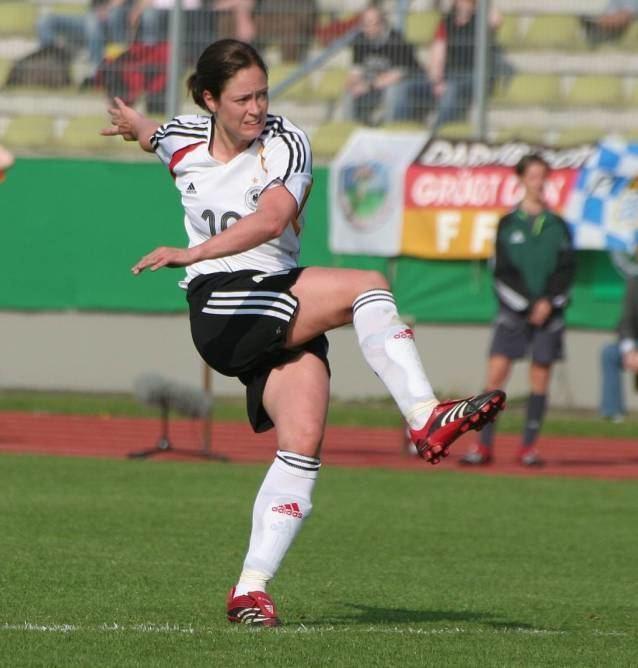 Renate Lingor Weltmeisterschaft 2007 Viertelfinale Deutschland