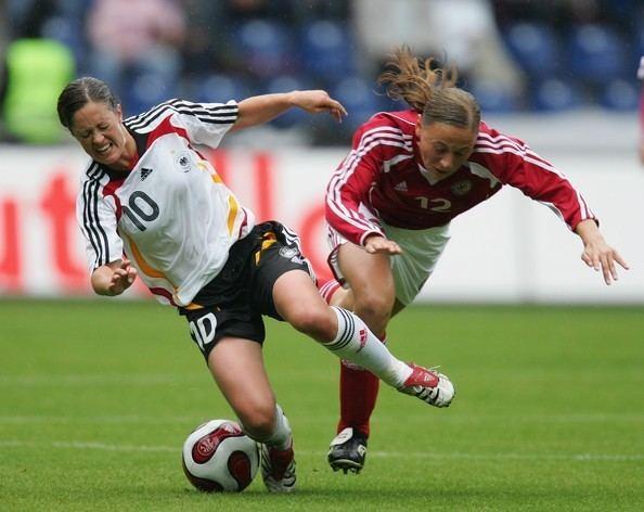 Renate Lingor Renate Lingor Photos Womens Nationalteam Germany v