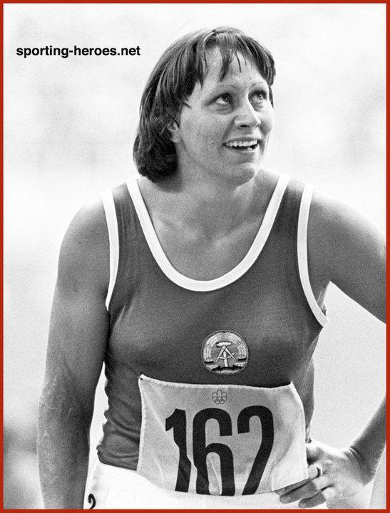 Renate Stecher Renate Stecher Meisterschaft Rekord 196976 East Germany