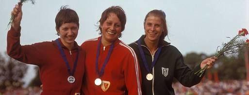 Renate Stecher Renate Stecher schrieb Sportgeschichte Zufriedener