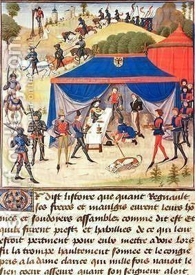 Renaud de Montauban Loyset Liedet Renaud de Montauban and Charlemagne 742814