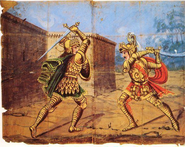 Renaud de Montauban Duel between Orlando and his cousin Rinaldo Renaud de Montauban
