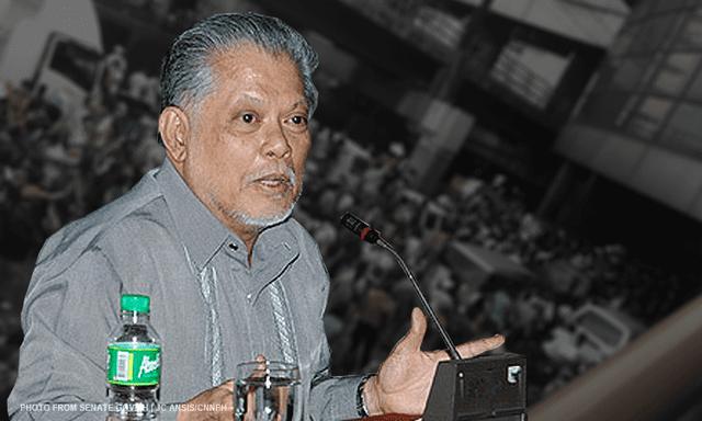 Rene Saguisag INC 39super bullying39 gov39t Saguisag CNN Philippines
