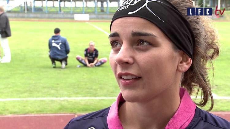 Renée Slegers LFCTV Matchens lirare Rene Slegers efter vinsten mot Mallbacken