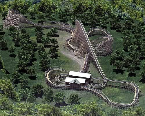 Renegade (roller coaster) That39s so twisted Renegade breaks the roller coaster mold Science