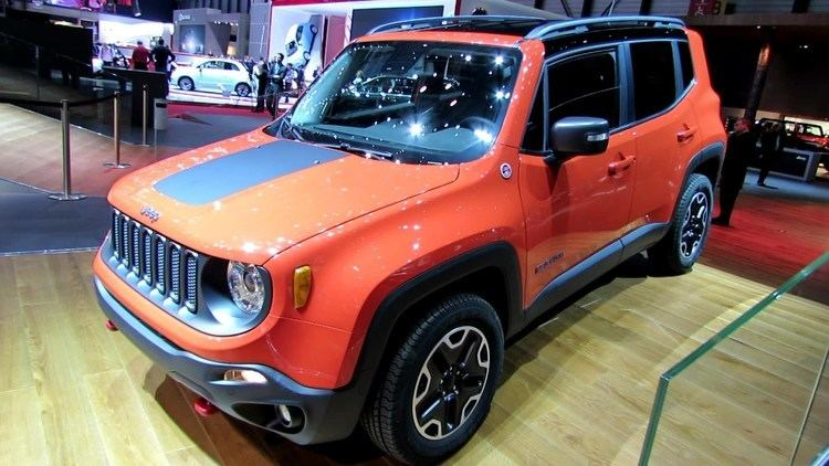 Renegade Trail 2015 Jeep Renegade Trail Hawk Diesel Exterior Walkaround Debut