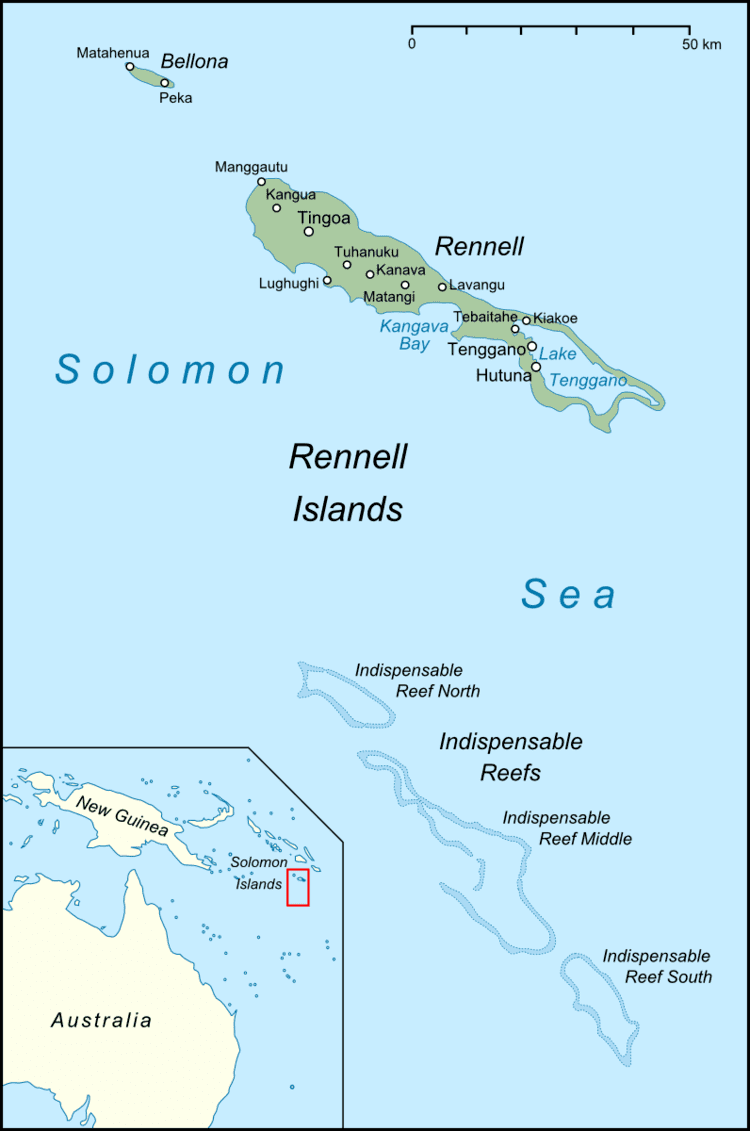 Rennell and Bellona Province in the past, History of Rennell and Bellona Province