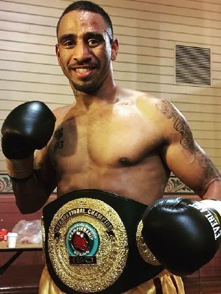 Renold Quinlan IBO super middleweight champion Renold Quinlan News Local