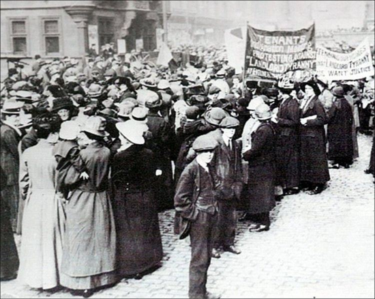 Rent strike Class War on the Homes Front The Glasgow Rent Strikes of 1915 Leftcom