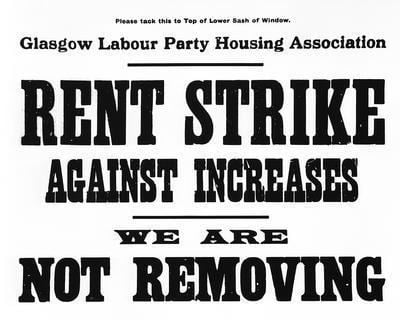 Rent strike 1915 Glasgow Rent Strike how workers fought and won over housing rs21