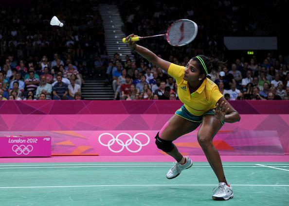 Renuga Veeran Renuga Veeran Photos Photos Olympics Day 1 Badminton Zimbio