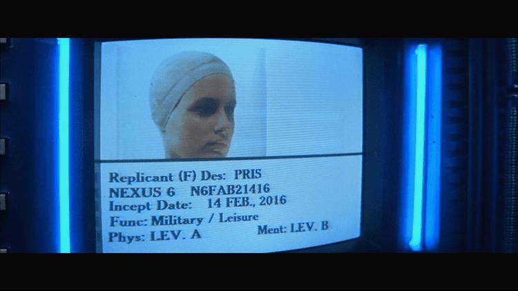 Replicant Blade Runner as Science Fiction ScreenSense