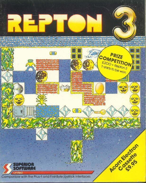 Repton (video game) Repton3jpg