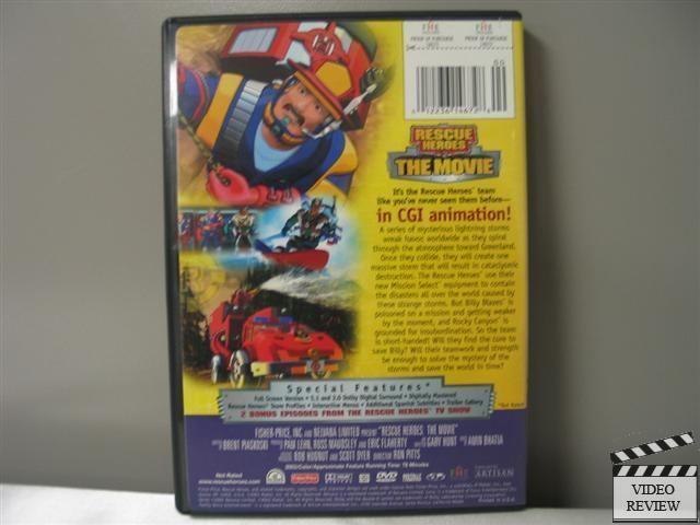 Rescue Heroes: The Movie Rescue Heroes The Movie DVD 2003 12236146728 eBay