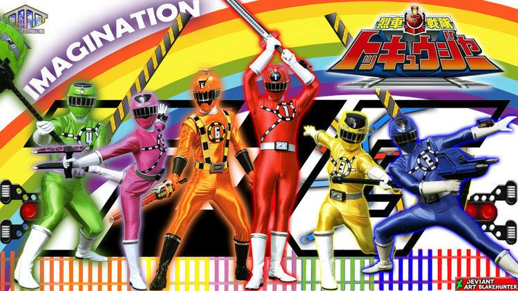 Ressha Sentai ToQger DeviantArt More Like Ressha Sentai ToQger Wallpaper by UnknownChaser