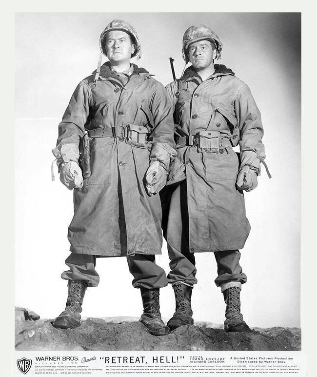 Retreat, Hell! Frank Lovejoy Richard Carlson Retreat Hell 1953 War Movies
