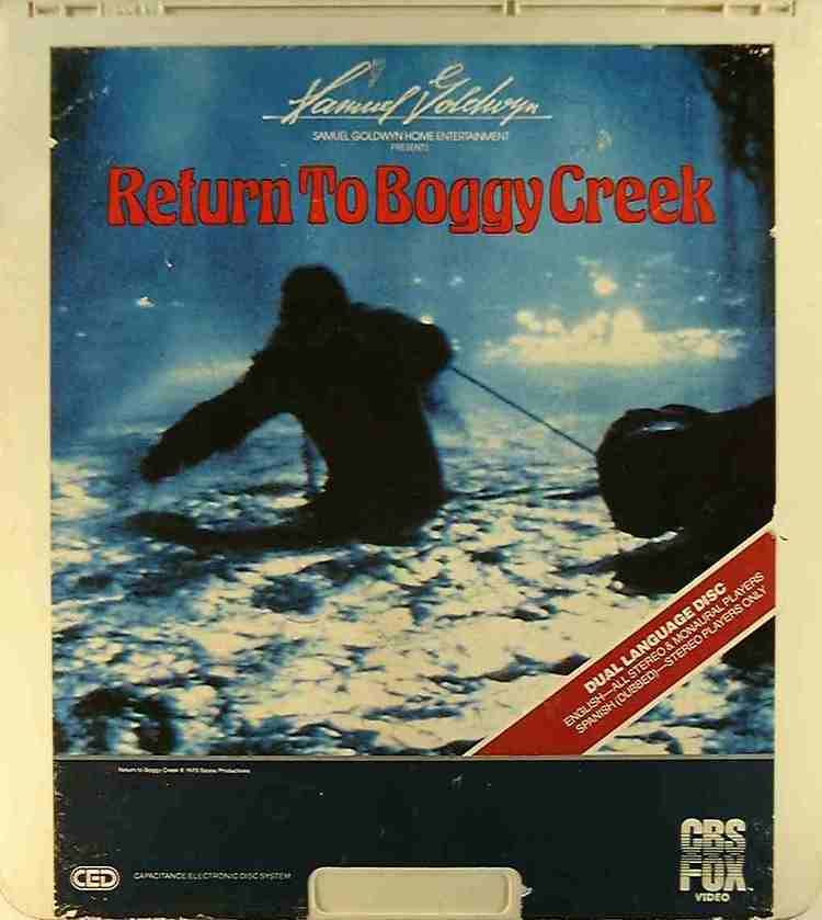 Return to Boggy Creek Return to Boggy Creek 24543714798 R Side 1 CED Title Bluray