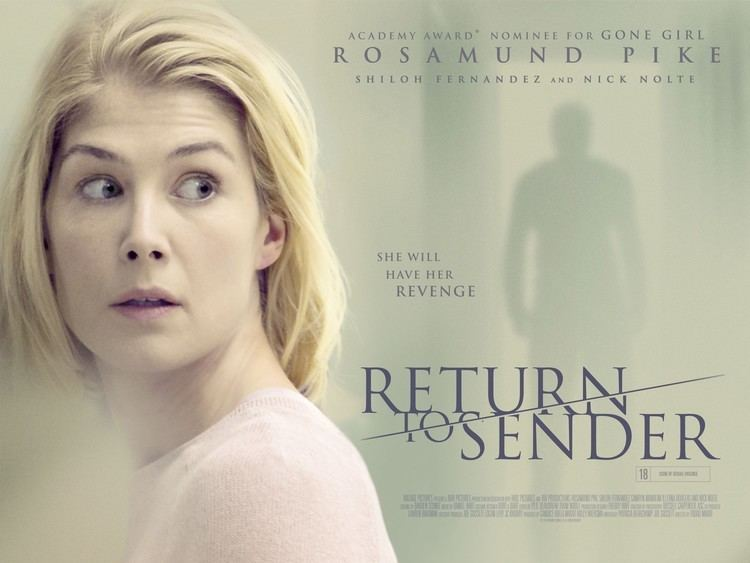 Return to Sender (2015 film) Return to Sender Movie Poster 1 of 3 IMP Awards