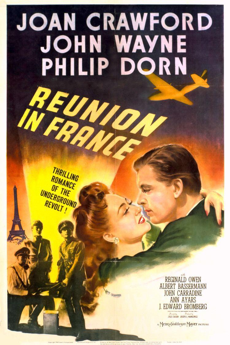 Reunion in France wwwgstaticcomtvthumbmovieposters4759p4759p