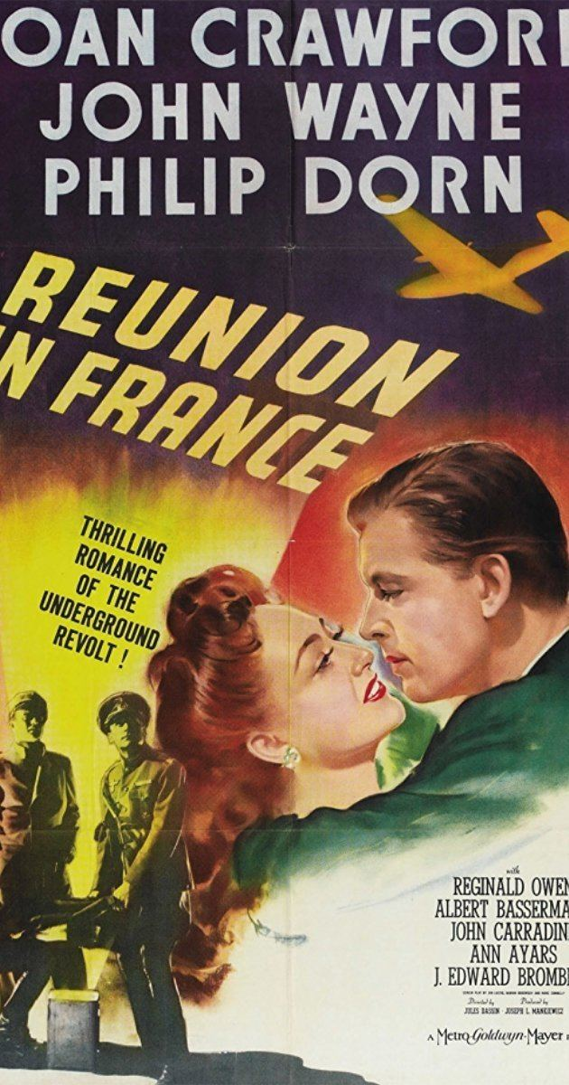 Reunion in France Reunion in France 1942 IMDb