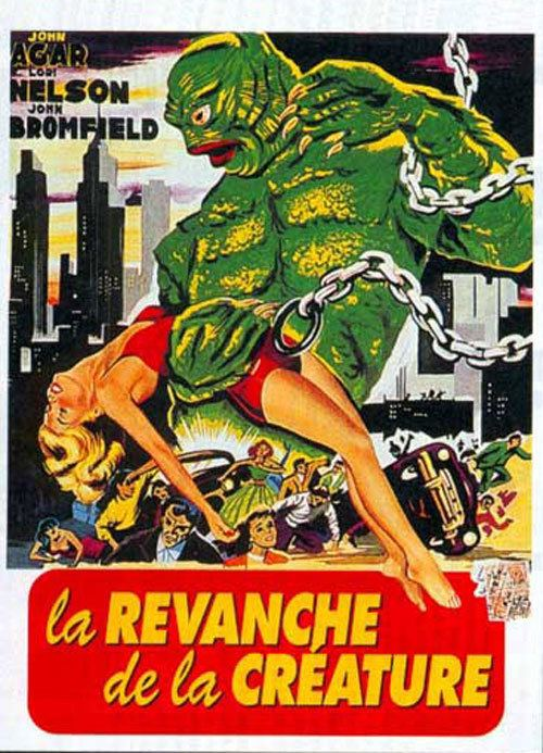 Revenge of the Creature Revenge of the Creature 1955 movie poster 9 SciFiMovies